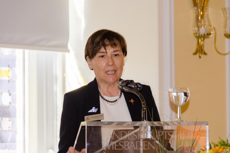 Governor Fernanda Gallo Freschi war eigens aus Mailand angereist.