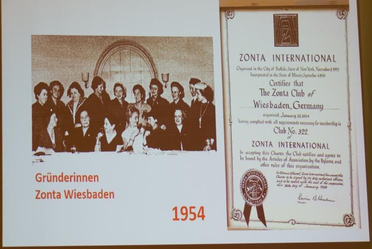 Die Gründungvon Zonta Wiesbaden