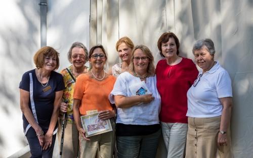 Mitglieder des  Fördervereins und Zontians