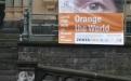Unser Banner an der Ringkirche