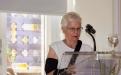 Frau Stadtverordnete Helga Skolik begrüßte stellvertretend für den Bürgermeister
