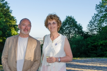 Patricia Hartley und Ehemann William